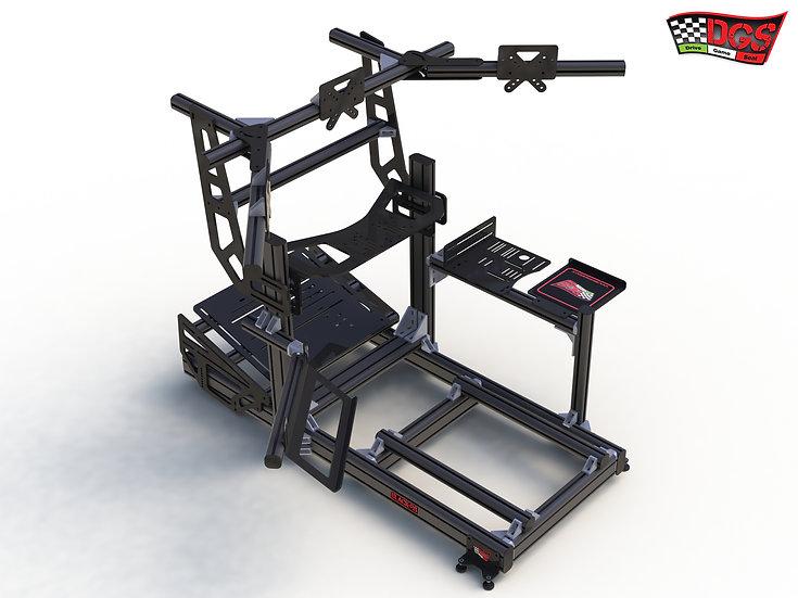 sim racing cockpit, alu rig, sim rig, postazione guida, simulatore guida, postazione ps5