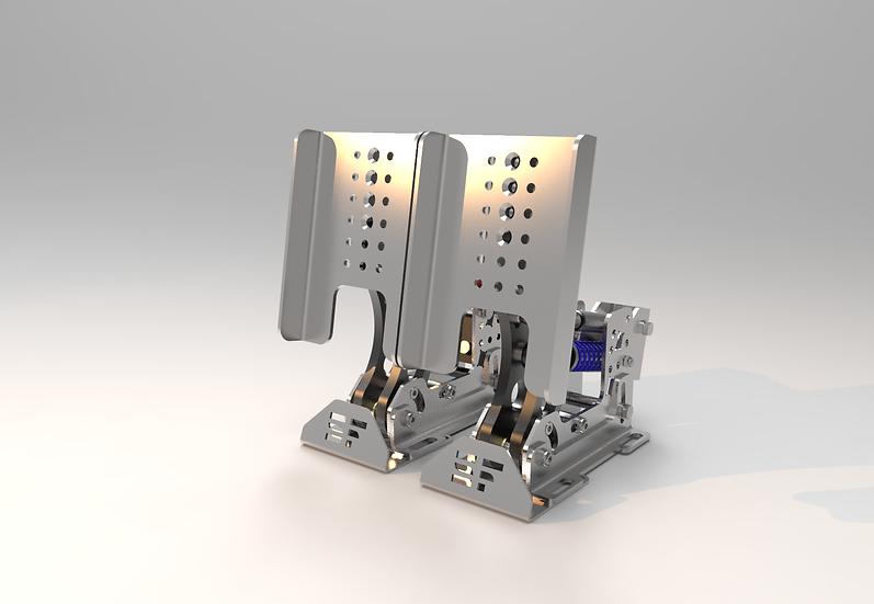 F1 sim pedals