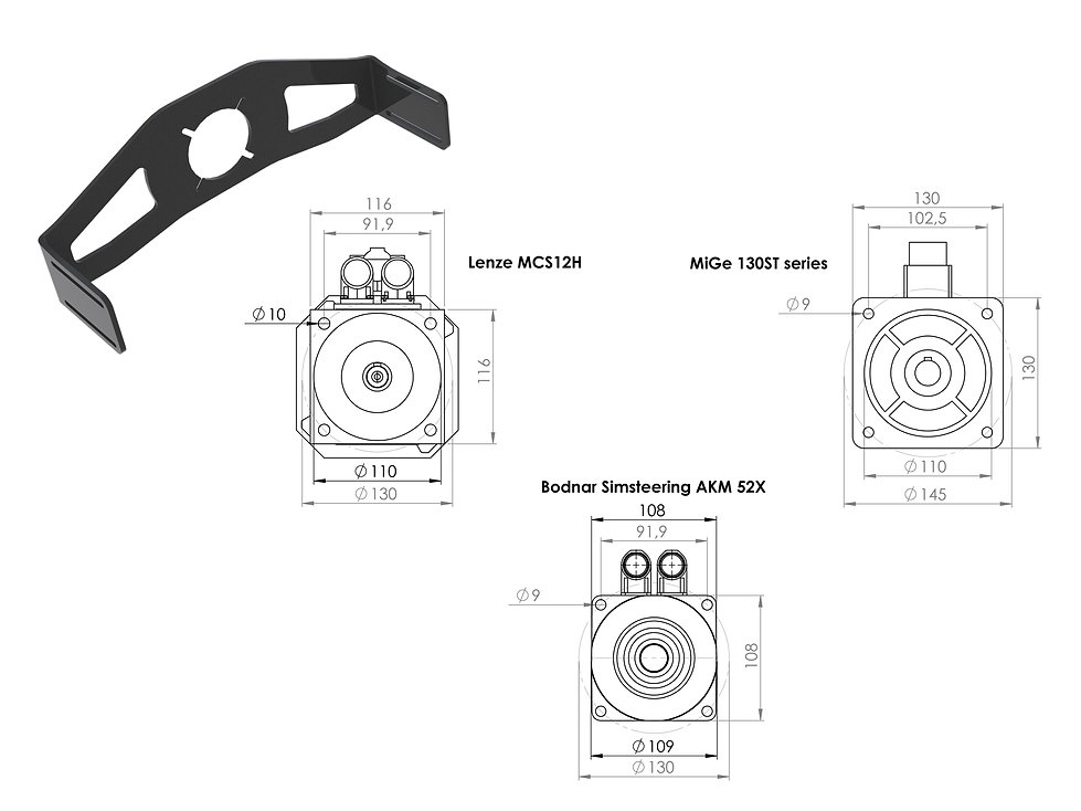 osw, open sim wheel plate