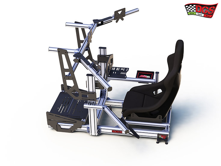 Drive Game Seat SILVER-RS step10