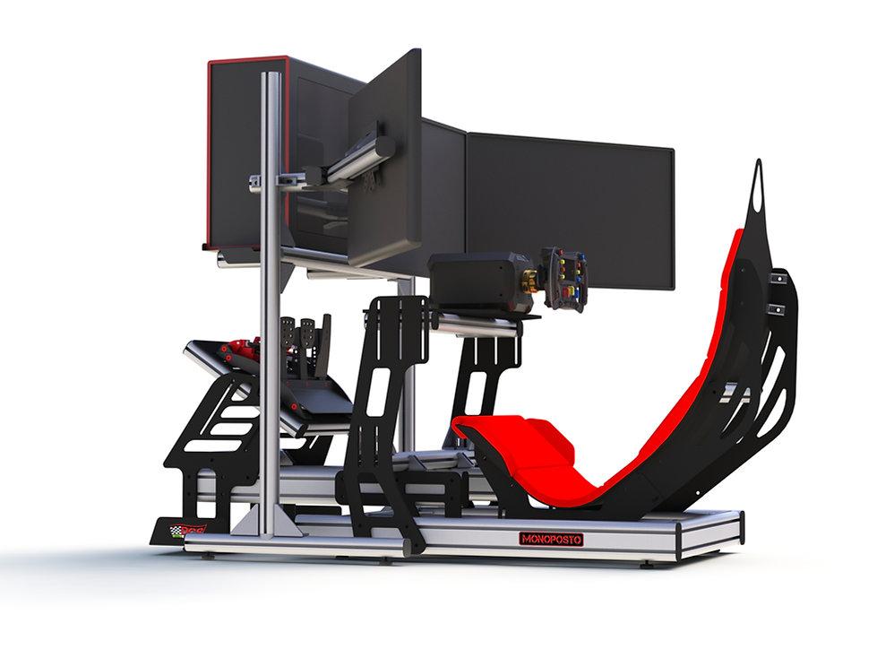 DGS Monoposto, F1 Simulator, Simulatore F1, Simulatore Formula1