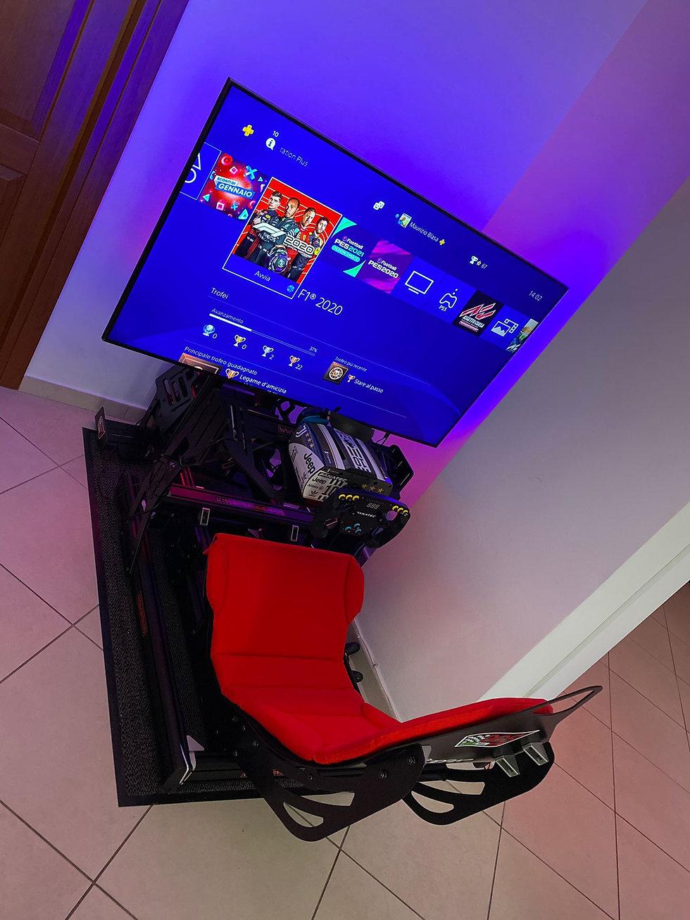 F1 cockpit