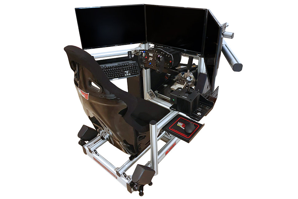 racing simulator, sim rig