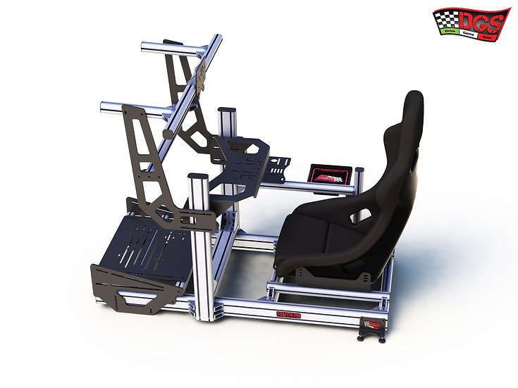 Drive Game Seat SILVER-RS step7B