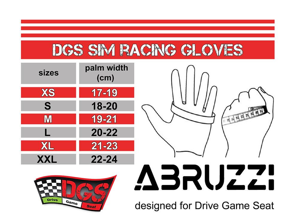 dgs sim racing gloves