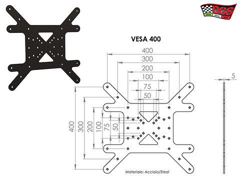 PIASTRA VESA 400x400