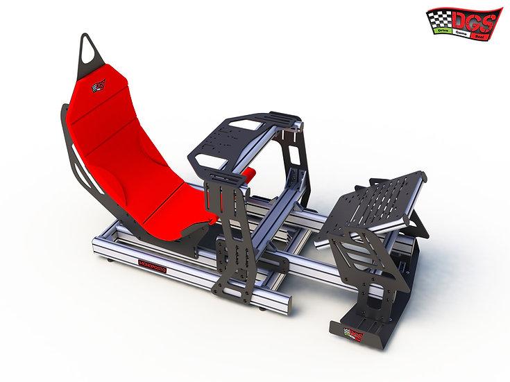 sim racing cockpit, racing seat, sim cockpit, postazione guida ps4, postazione guida pc