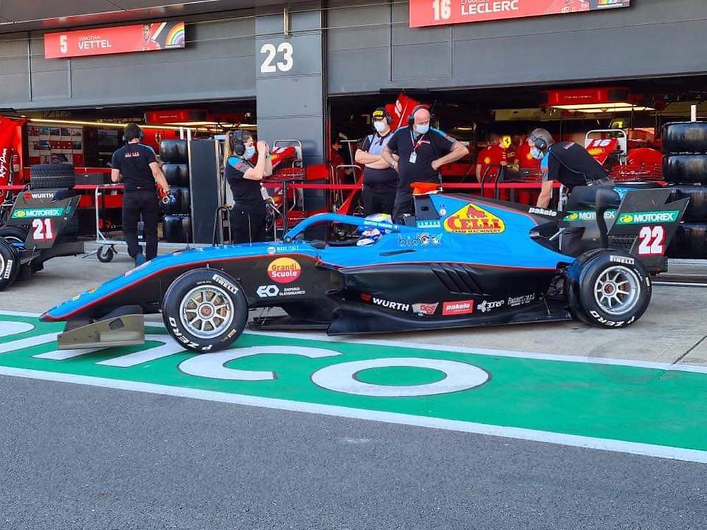 Matteo Nannini F3