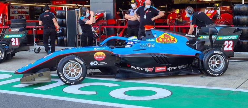 Drive Game Seat sponsor ufficiale di Matteo Nannini in F3