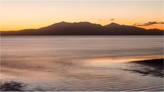 Sunset Behind Arran