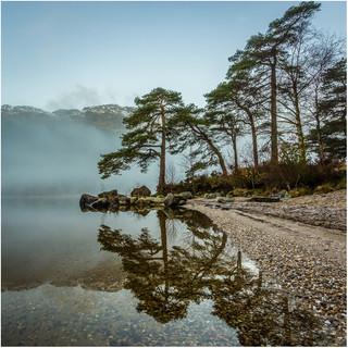 Mist Reflections - Loch Eck