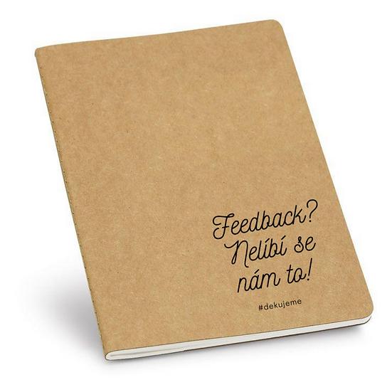 Eko zápisník Feedback? Nelíbí se nám to!