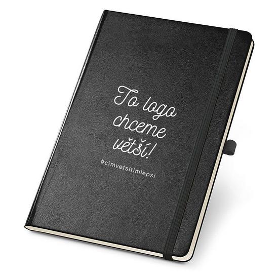 Elegantní zápisník To logo chceme větší