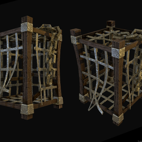 Low Poly Cage