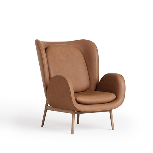 Norm Leather Chair