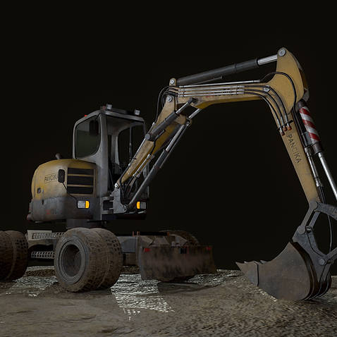 Excavator Game Mdoel