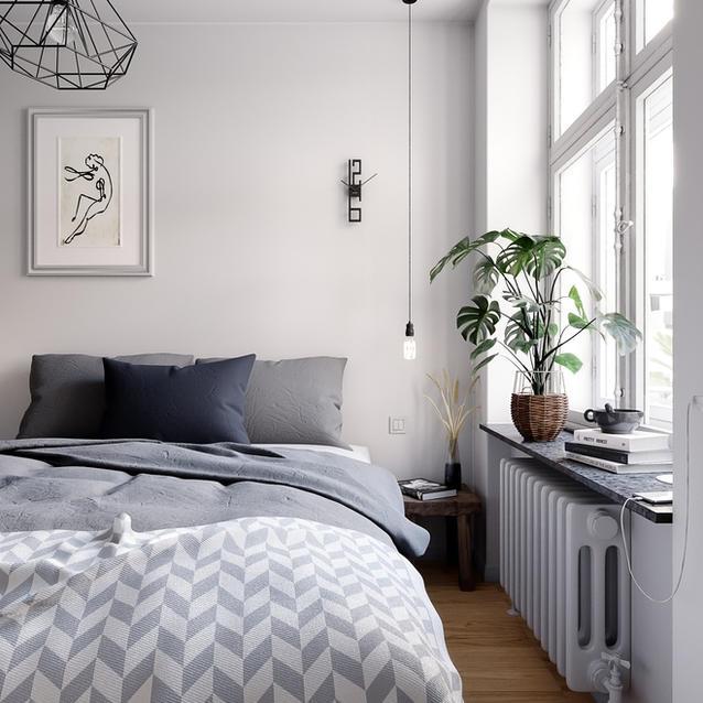 Scandinavian Apartment Visualization
