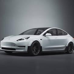 Tesla 3 Visualization