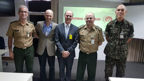 Our first presentation to Brazilian Force!