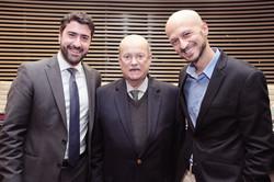 Luciano Coelho e RIcardo Lerner