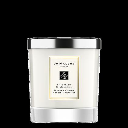 Lime Basil & Mandarin Home Candle