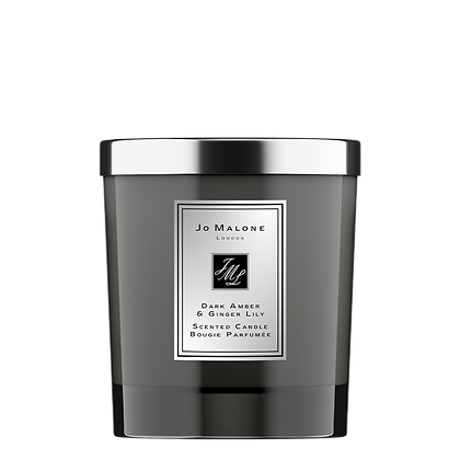 Dark Amber & Ginger Lily Home Candle Intense