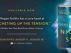 Blog Tour: The Night Swim by Megan Goldin