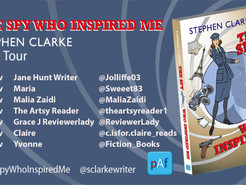 Blog Tour: The Spy Who Inspired Me  by Stephen Clarke