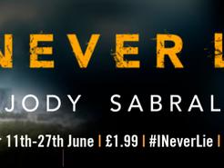 Blog Tour: I Never Lie by Jody Sabral