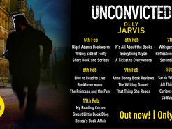 Blog Tour: Unconvicted By Olly Jarvis