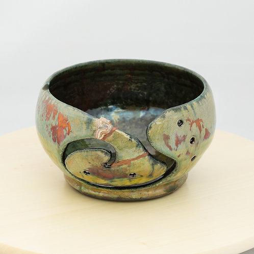 Raku Yarn Bowl