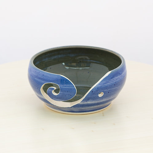 Porcelain Stoneware Yarn Bowl