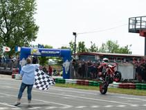 Seconda tappa Campionato Italiano Supermoto: Malone vince anche a Ottobiano