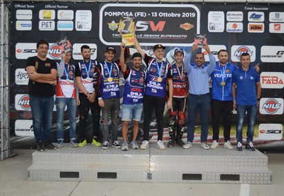 Trofeo delle Regioni Supermoto. Emilia Romagna protagonista nella On Road e seconda nella Off Road