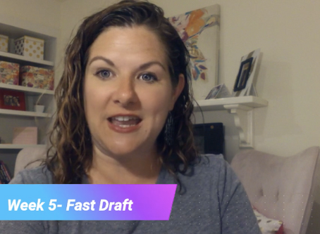 Lesson 5- Fast Drafting