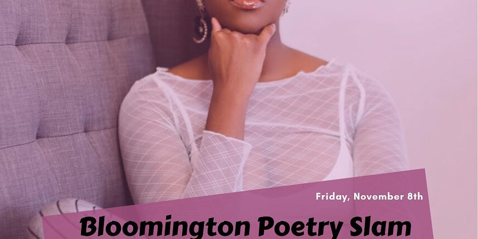 November Bloomington Poetry Slam feat Chantel Massey