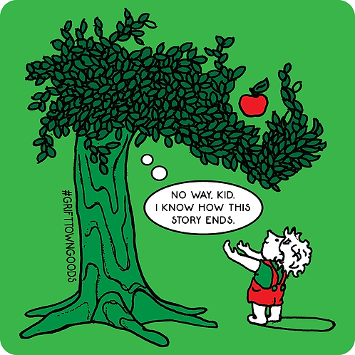 Giving Tree Sticker
