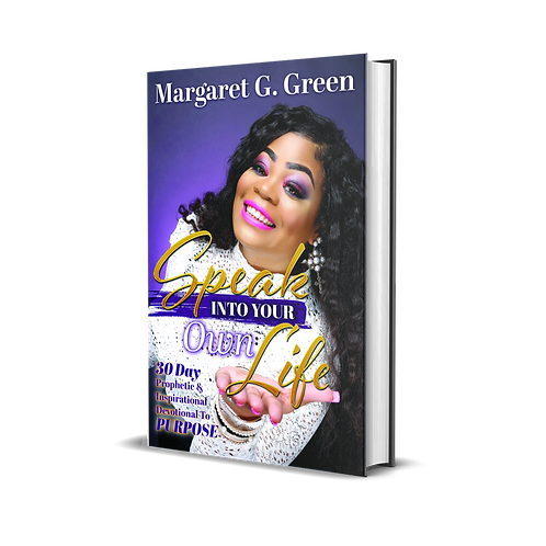 I AM KINGDOM CREATED: Speak Into Your Own Life 30 day Prophetic & Inspirational