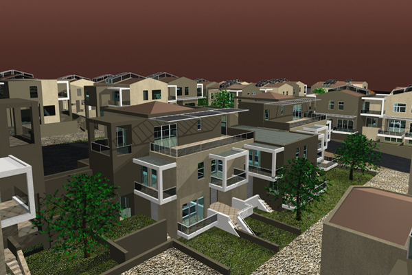 200 Houses Complex