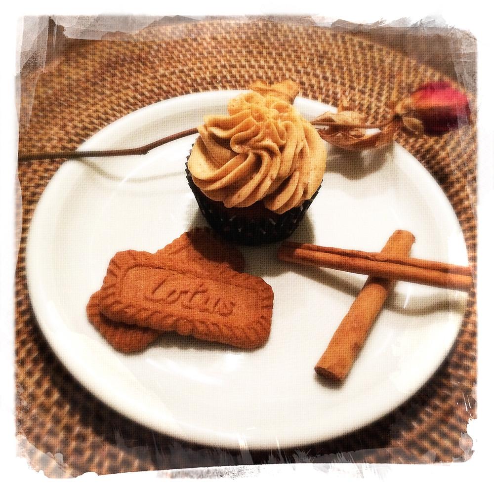 Cupcake Cannelle/Spéculos