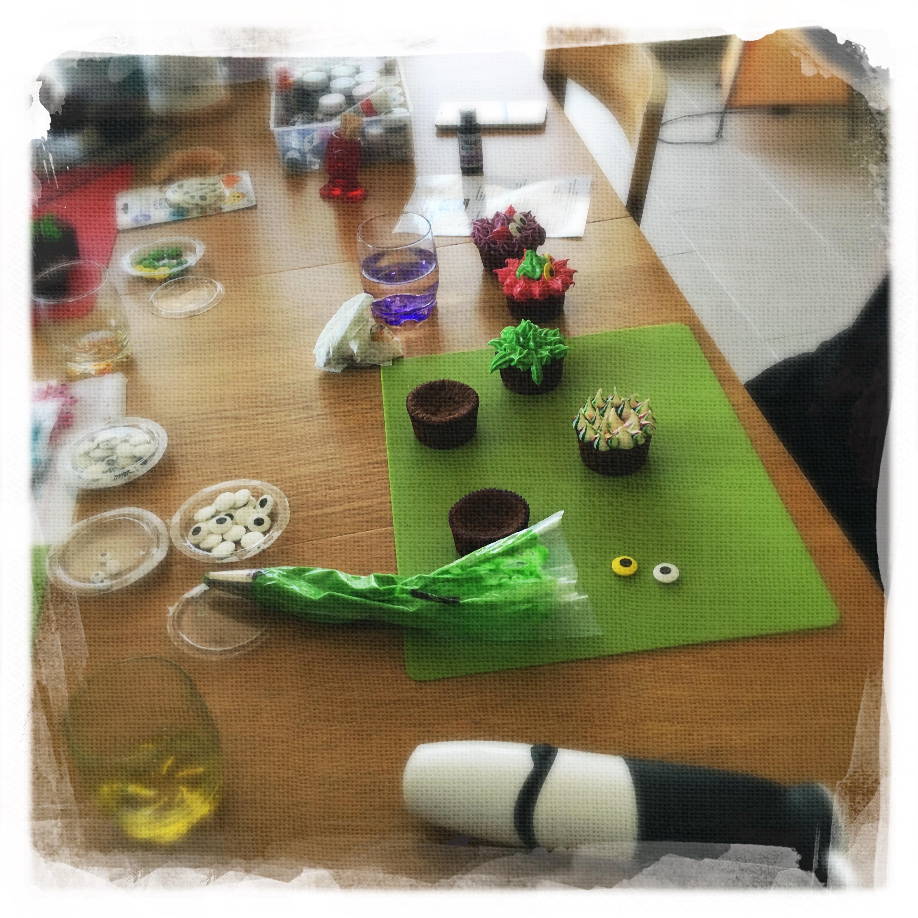 Cours privé Cupcakes Monstres VII