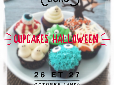 🎃 COURS CUPCAKES HALLOWEEN 🎃
