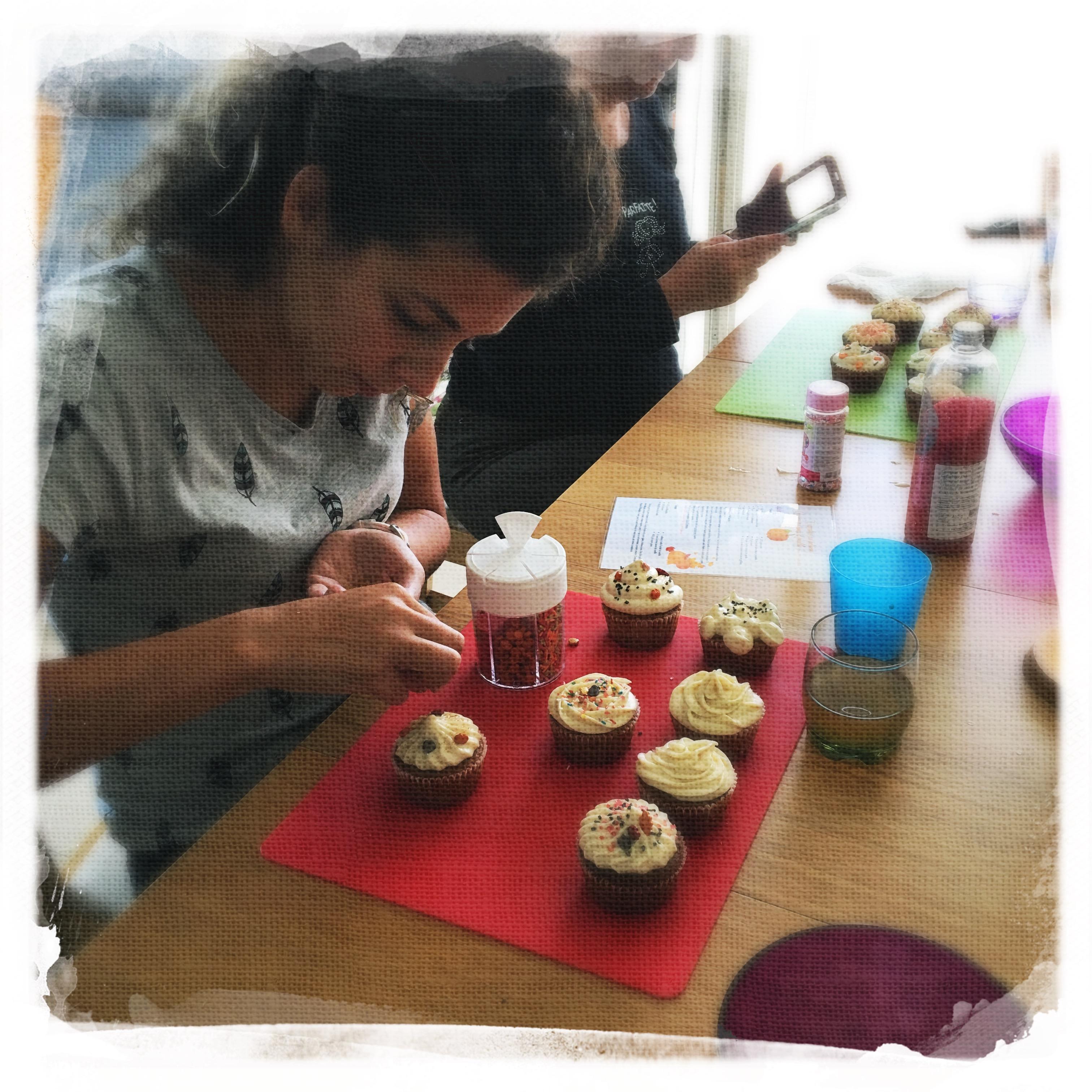 Cupcakes Potiron/Sirop d'érable XVI