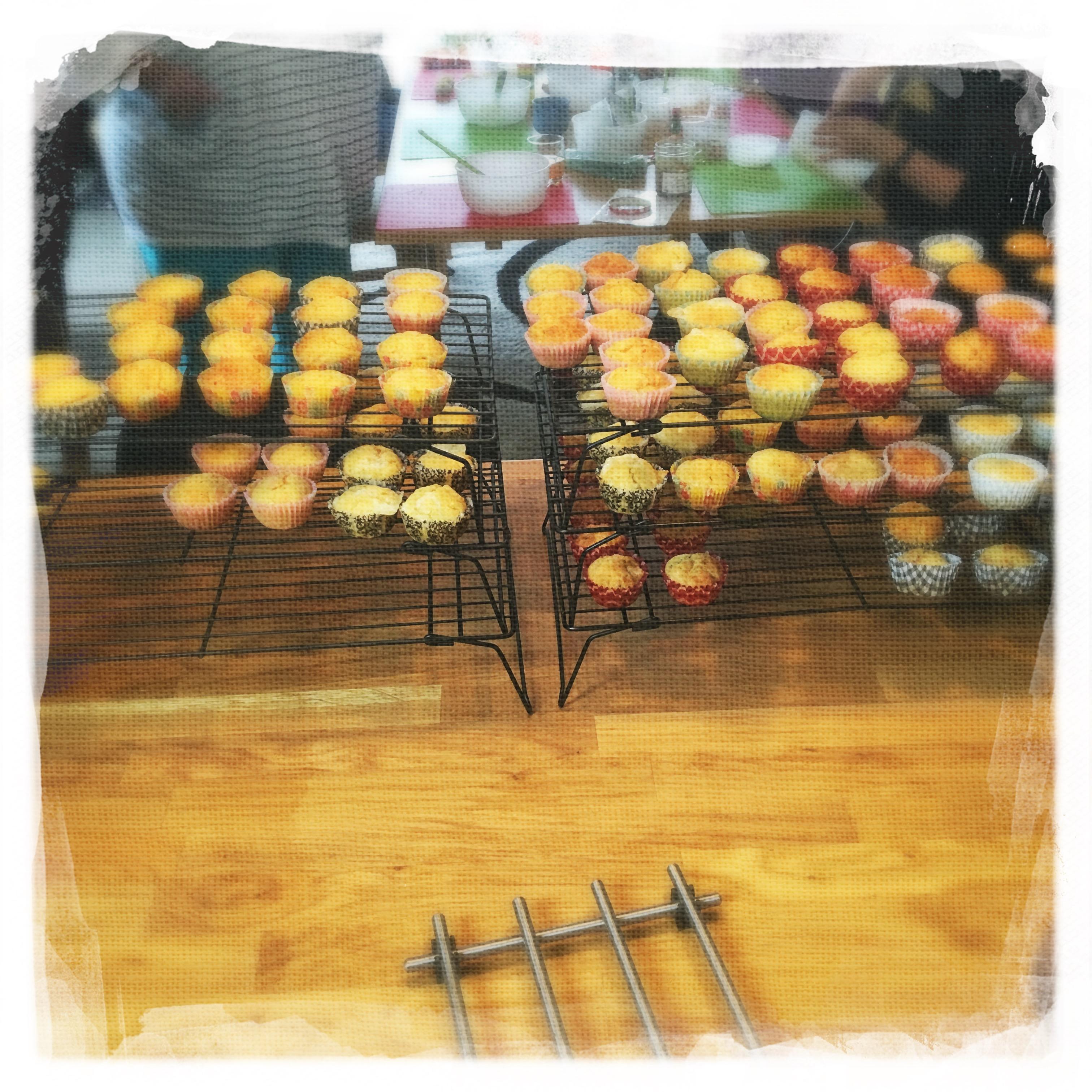 Cours Cupcakes salés '16 IV