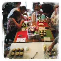 Cours Cupcakes Potiron/... IX
