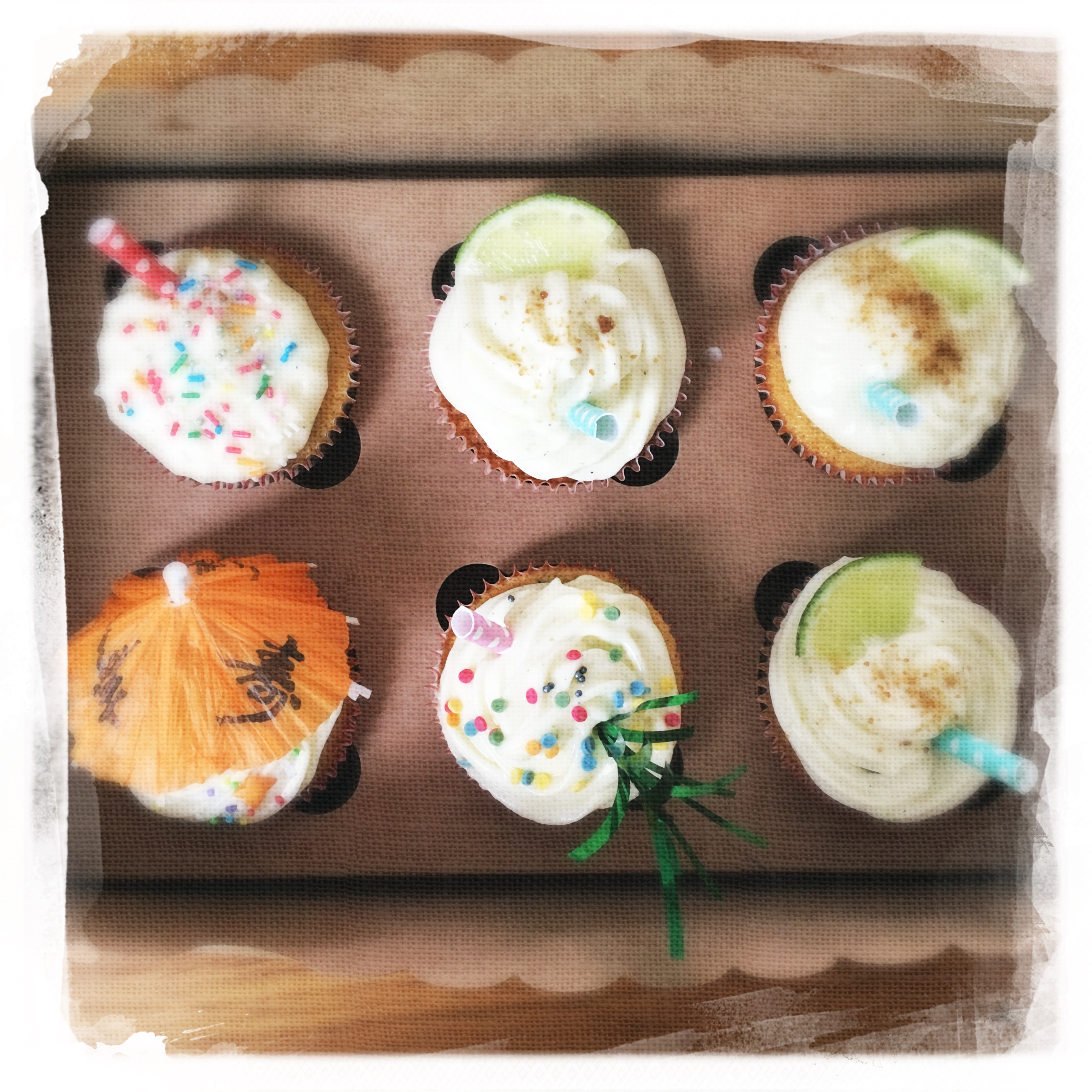 Cours Cupcakes Mojito VIII