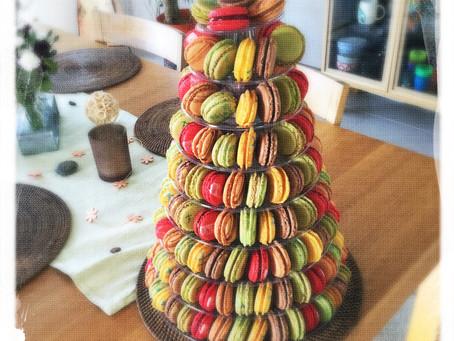 Une myriade de macarons... non une pyramide!