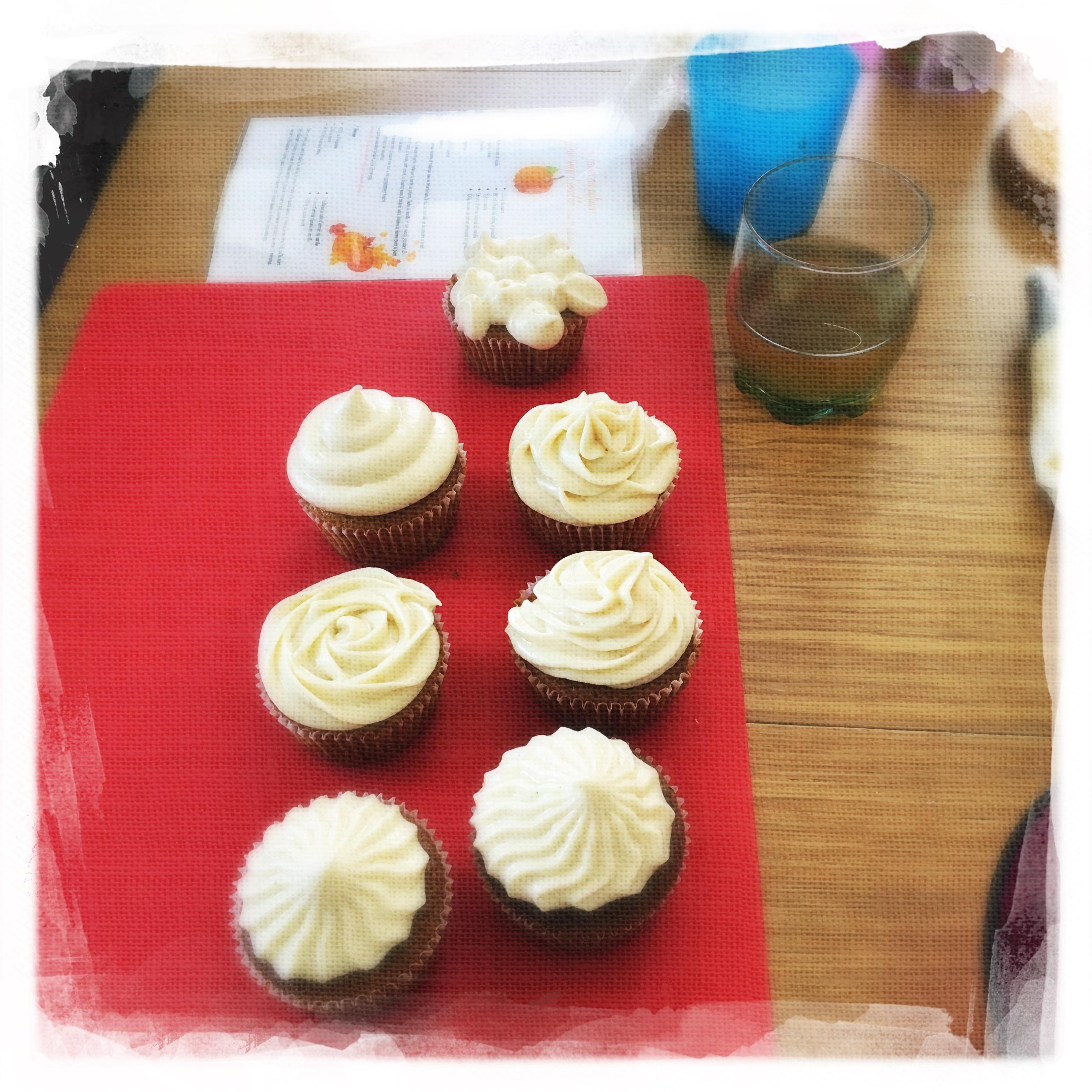 Cupcakes Potiron/Sirop d'érable XIV