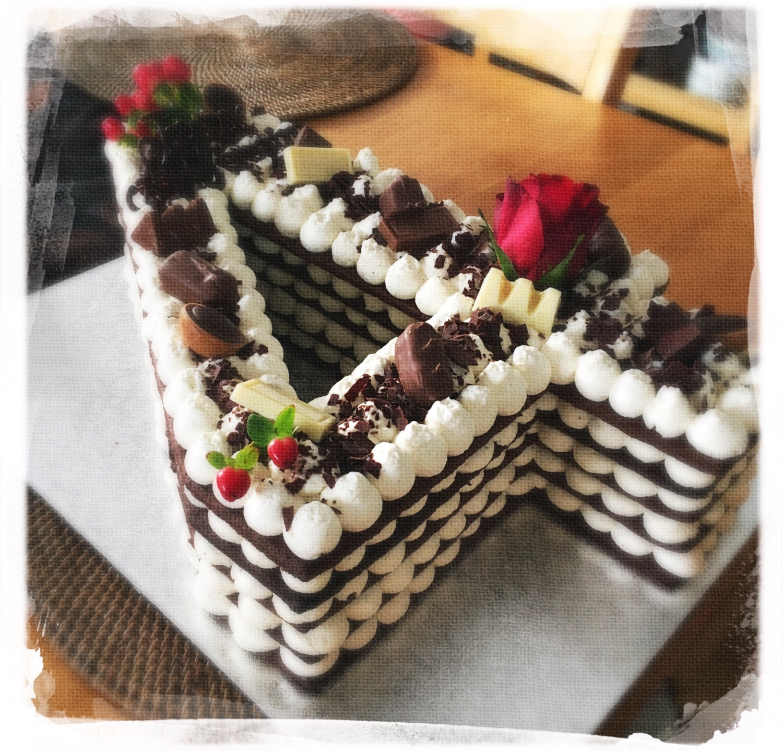 Number cake choco II