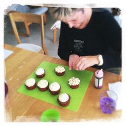 Cupcakes Potiron/Sirop d'érable XVII